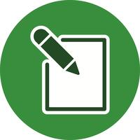 Modifier l'icône Illustration vectorielle
