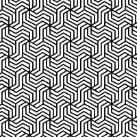 Modèle sans couture géométrique abstrait vecteur