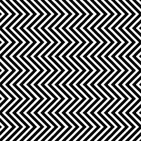 Seamless Pattern avec vagues triangulaires verticales vecteur
