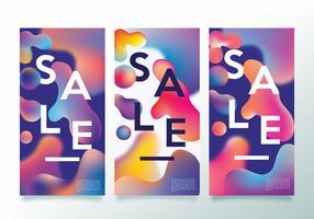 Conception de typographie de vente