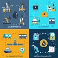 Ensemble de l'industrie pétrolière