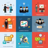 Ensemble de concepts commerciaux