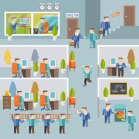 Concept de travail d'homme d'affaires