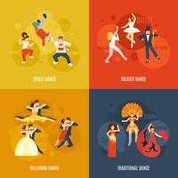 Ensemble plat de danse