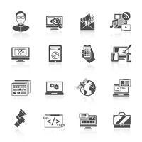 Icône de référencement Internet