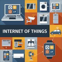 Internet de composition d'objets plats