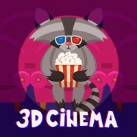 Affiche de cinéma raton laveur