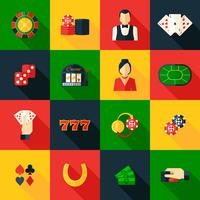 icône de casino plat