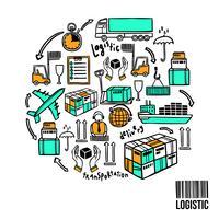 Concept d'esquisse logistique
