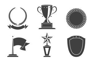 Badges de reconnaissance vecteur