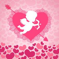 Saint Valentin ange d'amour