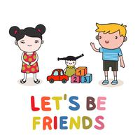 amitié enfants