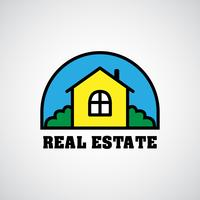 logo immobilier maison