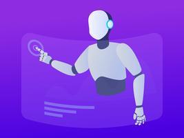 Intelligence artificielle unique vecteur