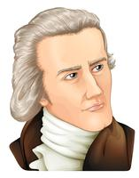 Monsieur William Hershel vecteur