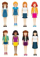 Femmes sans visages