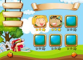 Un modèle de jeu pour enfants