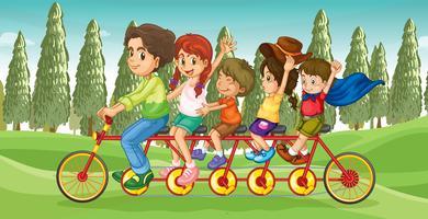 Le vélo de tout le monde vecteur