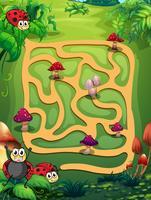 Un labyrinthe vecteur