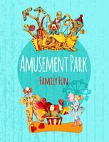 Affiche du parc d'attractions