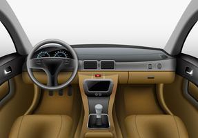 Éclairage intérieur de voiture vecteur