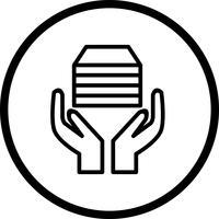Icône de vecteur acception