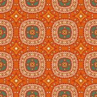 Modèle sans couture ethnique tribal coloré.