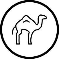 Icône de chameau de vecteur