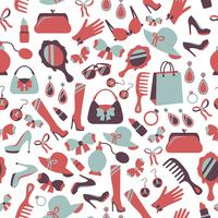 Fond d'accessoires femme sans couture