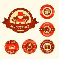 Set de service auto vecteur