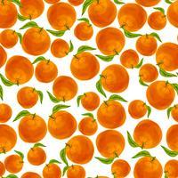 Modèle sans couture orange