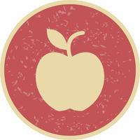 Icône de vecteur de pomme