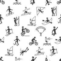 Modèle sans couture de sports extrêmes