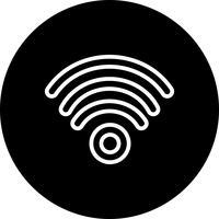 Icône de vecteur wifi