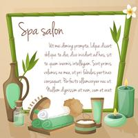 Fond de salon de spa