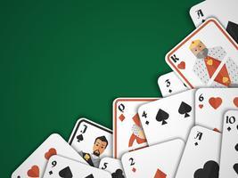 Fond de cartes à jouer