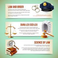 Loi bannières horizontales