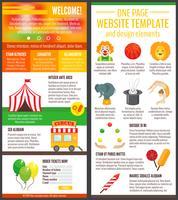 Page du site du cirque