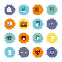 icônes d'échange finance