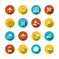 Icônes de l'immobilier