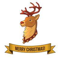 Icône de cerf de Noël