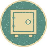 Icône de voûte de vecteur