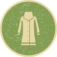 Icône de vecteur de manteau de pluie