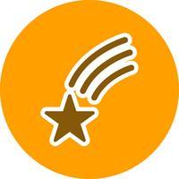 Étoile filante Vector Icon