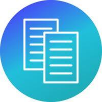 Icône de fichiers vectoriels vecteur