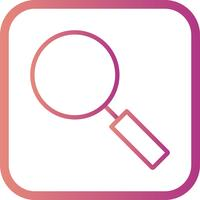 Icône de recherche de vecteur