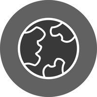 icône de vecteur de globe