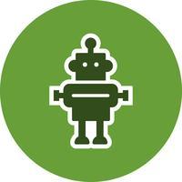 icône de vecteur de robot