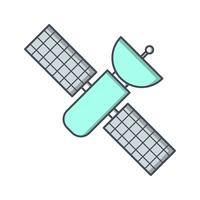 Icône de vecteur de la station spatiale
