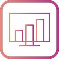 Icône de vecteur de statistiques
